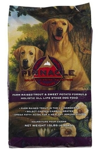 Pinnacle Canine Grain Free Trout & Sweet Potato Dry Dog Food