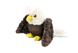 P.L.A.Y Fetching Flock Plush Dog Toy - Edgar the Eagle