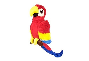 P.L.A.Y Fetching Flock Plush Dog Toy - Paula the Parrot