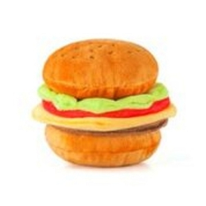 P.L.A.Y American Classic Burger Plush Toy