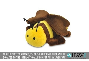 P.L.A.Y Buggin Out Bee Plush Toy