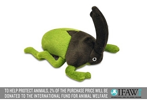P.L.A.Y Buggin Out Rhino Beetle Plush Toy
