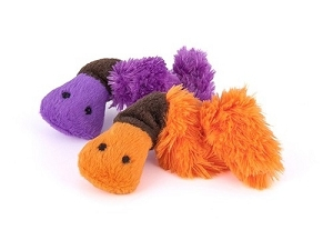 P.L.A.Y Feline Frenzy Wriggly Worm Set Cat Plush Toy