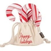 P.L.A.Y Holiday Classic Candy Cane Plush Toy