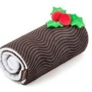 P.L.A.Y Holiday Classic Yule Log Plush Toy