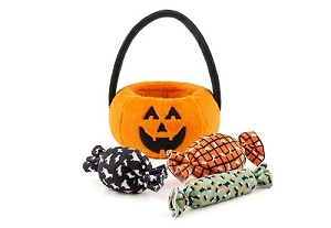 P.L.A.Y Howl-o-ween Basket Plush Toy