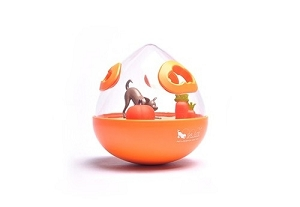 P.L.A.Y Orange Wobble Ball