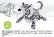 P.L.A.Y Safari Snow Leopard Plush Toy