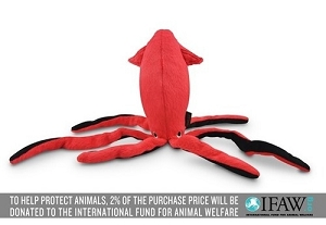 P.L.A.Y Under the Sea Giant Squid Plush Toy