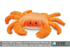 P.L.A.Y Under the Sea King Crab Plush Toy