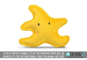 P.L.A.Y Under the Sea Starfish Plush Toy