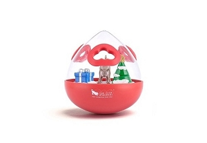 P.L.A.Y Wobble Ball Red Holiday Edition