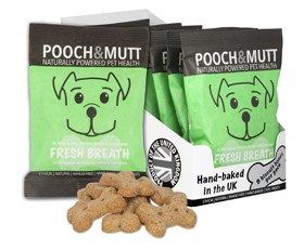 Pooch & Mutt Fresh Breath Pocket Packs 40g