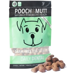 Pooch & Mutt Daily Dental Chicken Grain Free Dog Treats 80gm