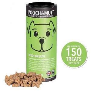 Pooch & Mutt Fresh Breath Mini Bone Dog Treats