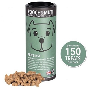 Pooch & Mutt Move & Easy Mini Bone Dog Treats