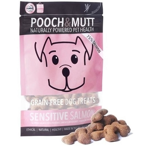 Pooch & Mutt Sensitive Salmon Grain Free Dog Treats 80gm