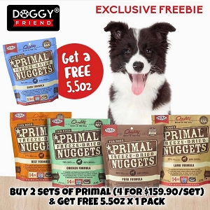 [BEST DEAL!] Primal Freeze Dried Canine 8 For $319.80 + FREE Primal 5.5oz