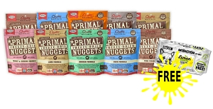 [SALE] Primal Freeze Dried Canine 4 For $159.90 + FREE WIPES