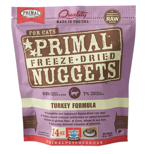Primal Freeze-Dried Feline Turkey Formula