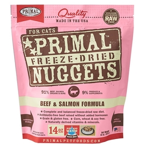 Primal Freeze Dried Feline Beef & Salmon Formula