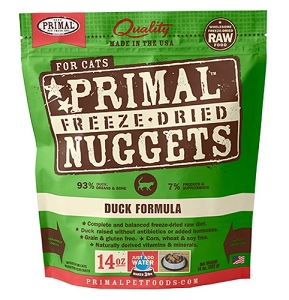 Primal Freeze Dried Feline Duck Formula