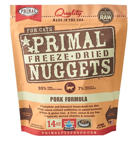 Primal Freeze Dried Feline Pork Formula