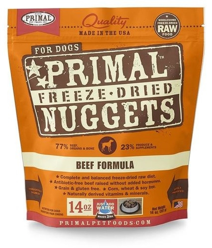 Primal FREEZE DRIED Grain Free Beef Formula