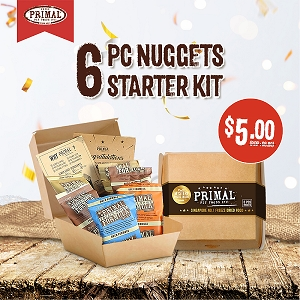 Primal 6 PC Nuggets Starter Kit
