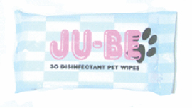 JU-BE Disinfectant Pet Wipes