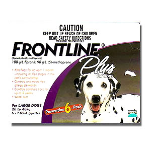 Frontline Plus for Large Dogs 20 - 40kg