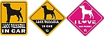 Car Decals - Jack Russell