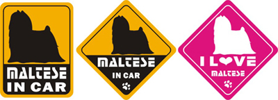 Car Decals - Maltese