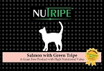 Nutripe Salmon with Green Tripe cat + GLM