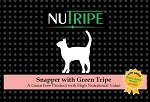 Nutripe Snapper with Green Tripe cat + GLM