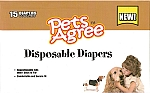 Pets Agree Disposable Diapers