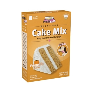 Puppy Cake Mix - Pumpkin (wheat-free)