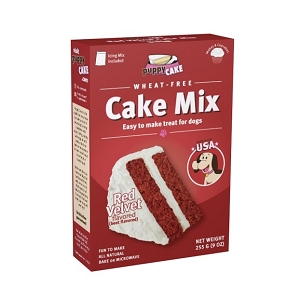 Puppy Cake Mix - Red Velvet (wheat-free)