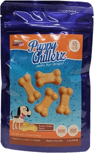 Puppy Cake Peanut Butter Jello Dog Treats