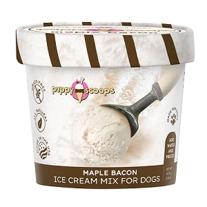 Puppy Scoops Ice Cream Mix - Maple Bacon 2.32oz