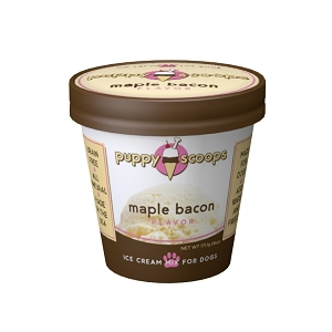 Puppy Scoops Ice Cream Mix - Maple Bacon 4.65oz