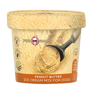 Puppy Scoops Ice Cream Mix - Peanut Butter 4.65oz