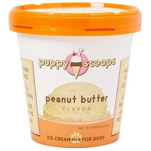 Puppy Scoops Peanut Butter Flavour Ice Cream Mix Dog Treats