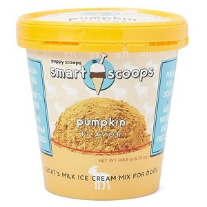 Puppy Scoops Smart Scoops Pumpkin Flavour Ice Cream Mix Dog Treats