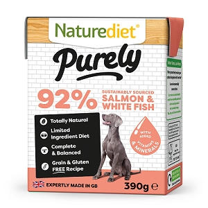 Naturediet Purely Dog Food - Salmon & Whitefish