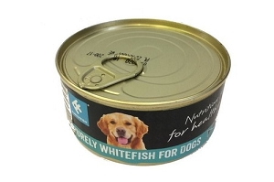 Purely Fish Canned 100% Minced Whitefish 160gm