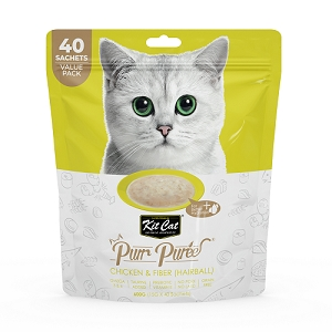 KitCat Purr Puree Value Pack Chicken & Fiber