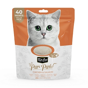 KitCat Purr Puree Value Pack Chicken & Salmon
