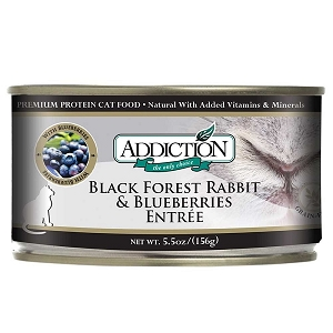 Addiction Black Forest Rabbit & Blueberries Canned Cat Food