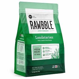 Bixbi Rawbble Ancient Grain Landatarian Pork, Lamb & Goat Limited Ingredient Dry Dog Food